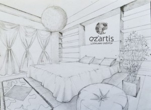 ozartis-la rochelle-dessin-chambre-elisa