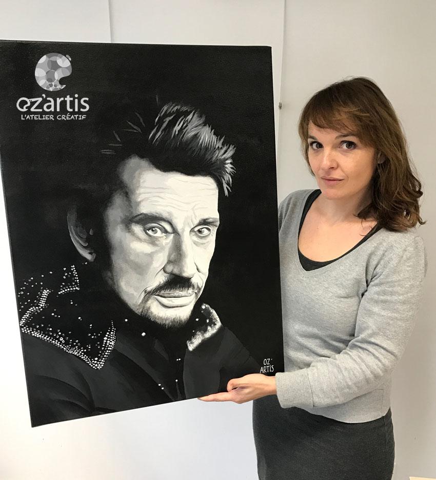 ozartis-la rochelle-peinture-tableau-sur-commande-johnny